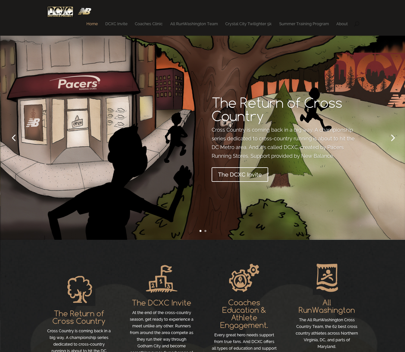 DCXC-website